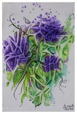 Jagged Purple Flower