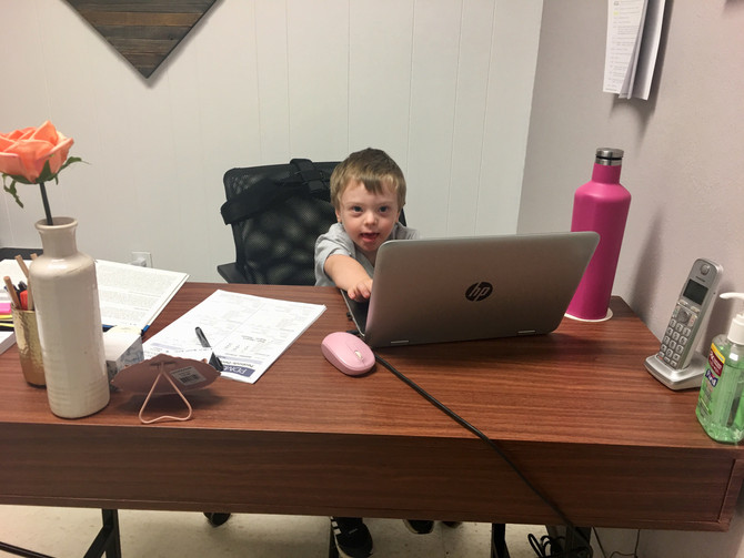 Around the Clinic: There's a New Boss in Town!!