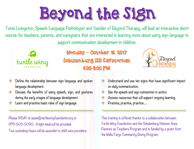 10.16.2017 Short Course: Beyond the Sign