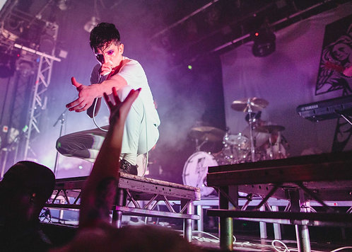Will Gould from Creeper performing at the 229 Venue 2019 5x7 Print