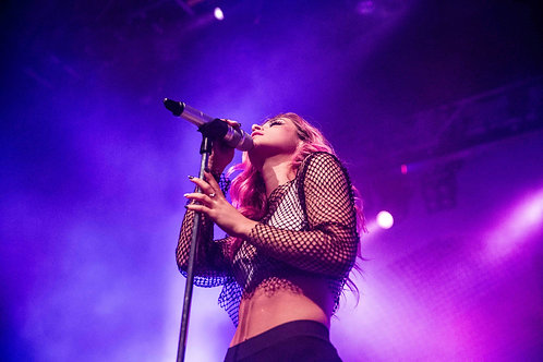 Chrissy Costanza from Against The Current performing at O2 Forum Kentish Town A3 Poster
