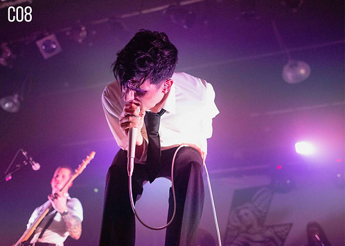 Will Gould from Creeper performing at the 229 Venue 2019 A4 Print
