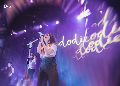 Dodie at the Roundhouse Camden, London 2019 A4 Print