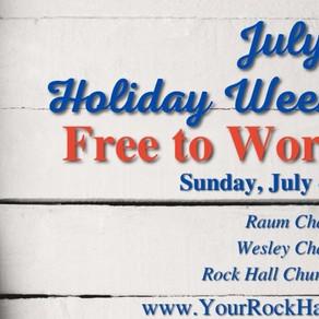 July 4th Worship Program