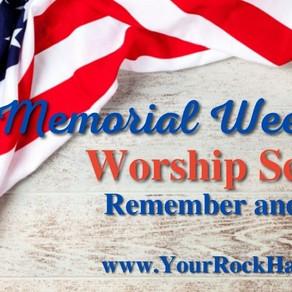 May 30th Worship Program