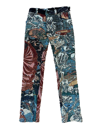 hell courtesian pants