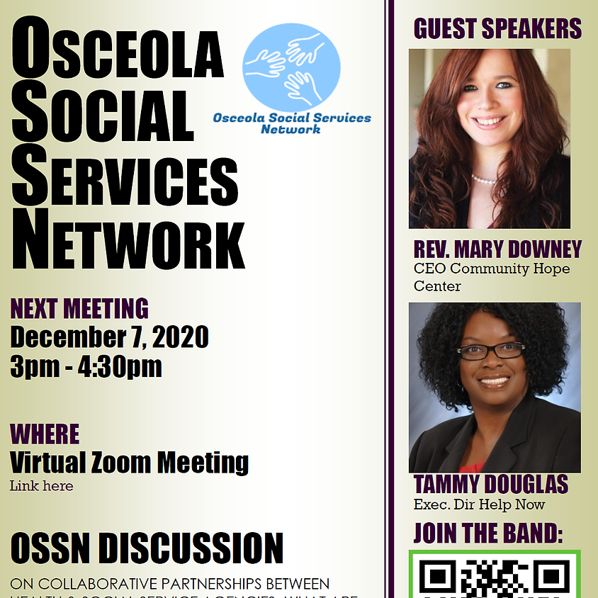 Osceola Social Services Network Meeting December 7th