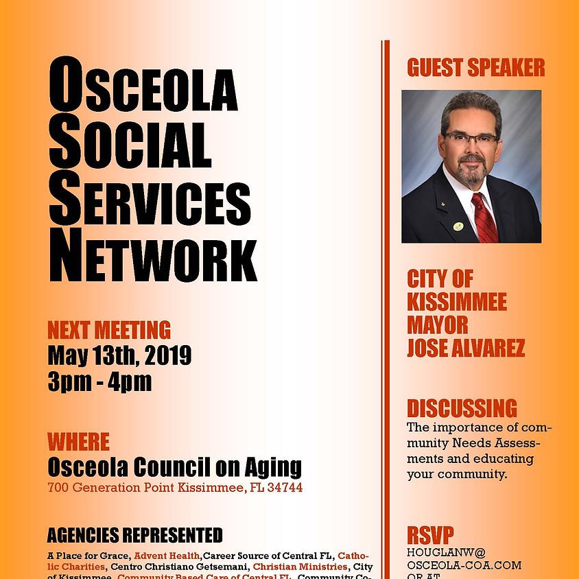 Osceola Social Services Network May Meeting