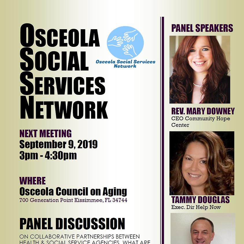 Osceola Social Services Network Meeting - September