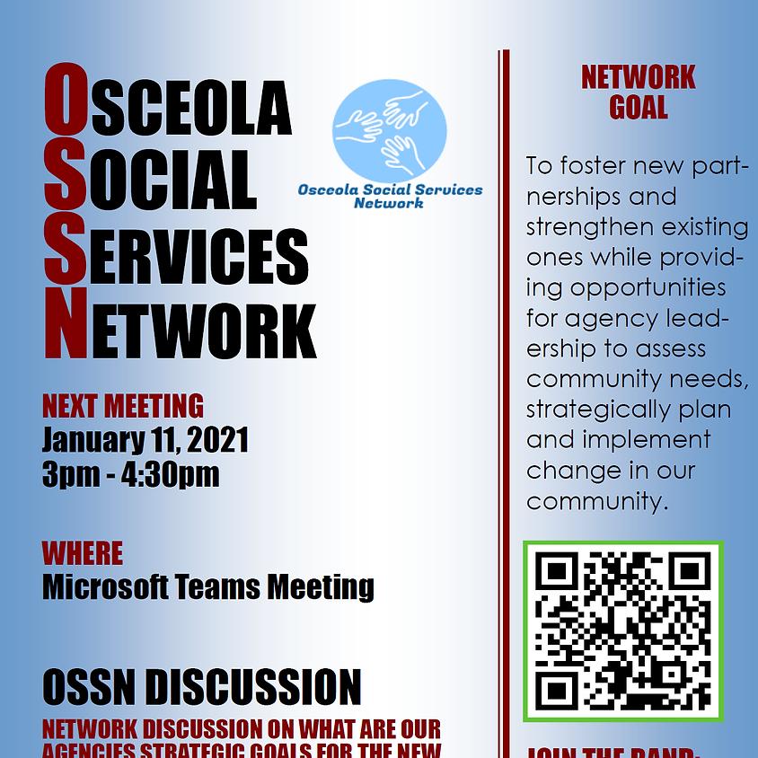 Osceola Social Services Network Meeting