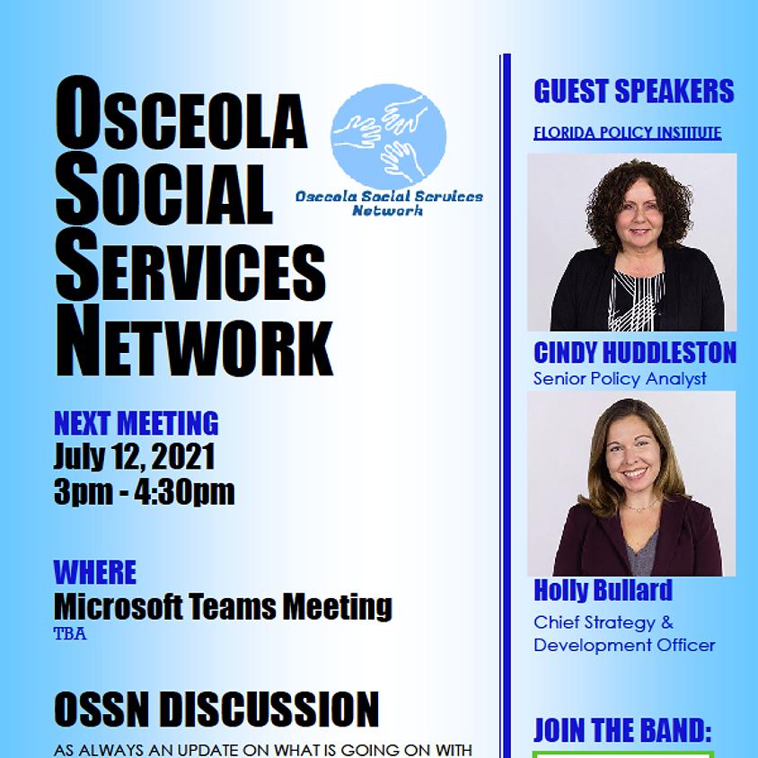 Osceola Social Services Network Meeting-July