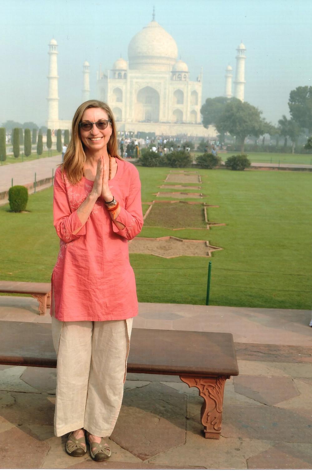 Kathleen Stoneman November 2017 Taj Mahal, Agra, India