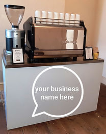 Branded Espresso Bar