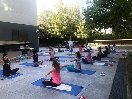 ➡️Open Air Pilates_Fresh Air is nature's tonic!__#fitbreak #pilates #corporatepilates #hea