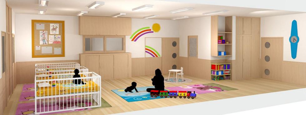なるせ保育園 乳児室