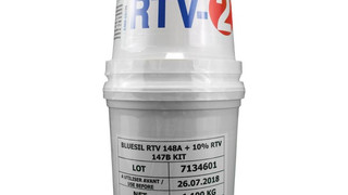 Bluesil (formerly Rhodorsil) RTV147 A and B, and RTV148 A and 147 B Silicone Elastomer / 1.1Kg Kit