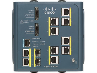Cisco IE-3000-8TC   8 Ethernet 10/100 ports and 2 dual-purpose uplinks