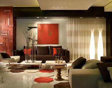 Декор интерьера +в современном стиле, 3d-панели, модульный ковер