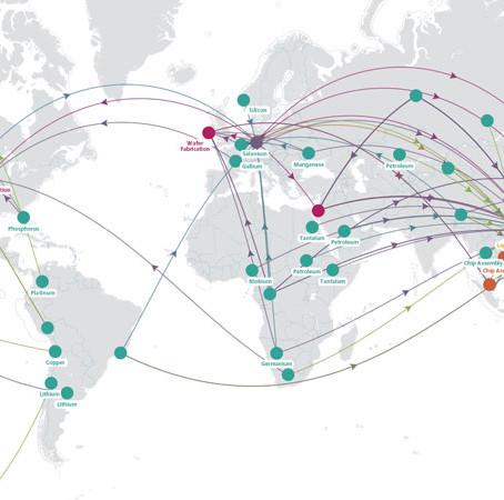 INSIGHT: Timberland Supplychain Map