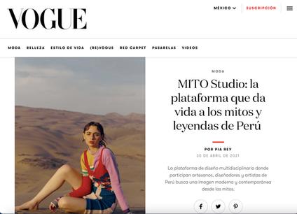 MITO STUDIO in VOGUE MX