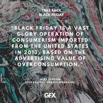 #TakeBlackFriday Campaign