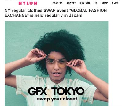 GFX Tokyo Swap with Nylon Magazine