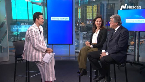 Interview: Giovana + Paolo Vitella for NASDAQ