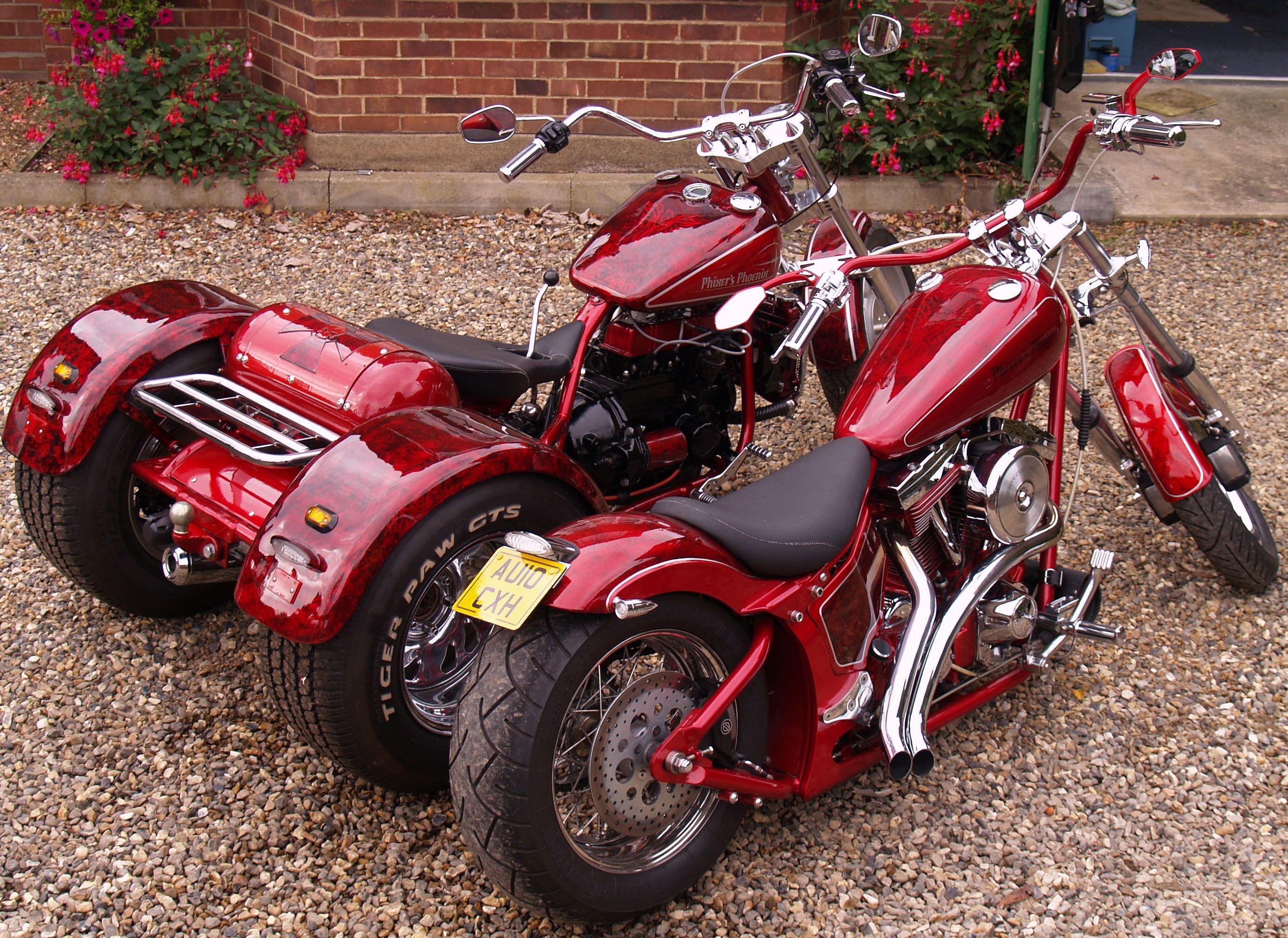 Trike and Evo
