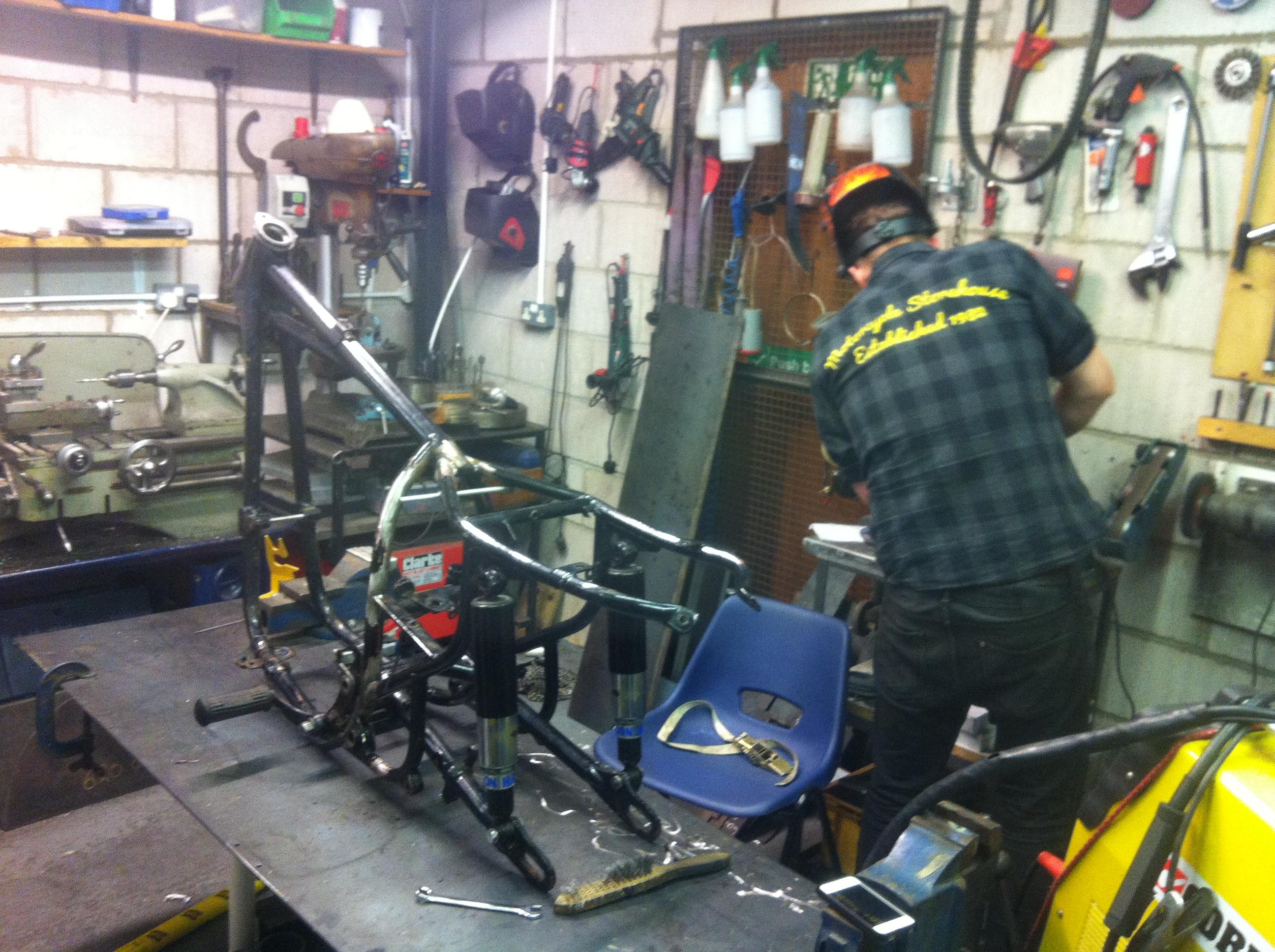 Old BSA repair