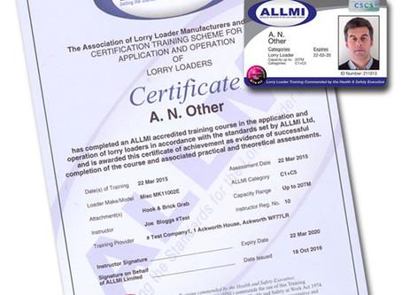 ALLMI Training - Card Explained
