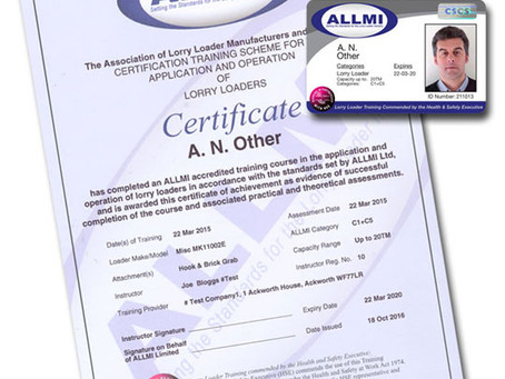 ALLMI Training - Card Explained