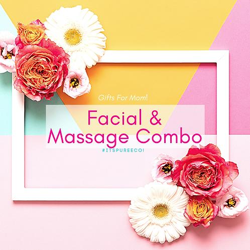 Facial & Massage Combo