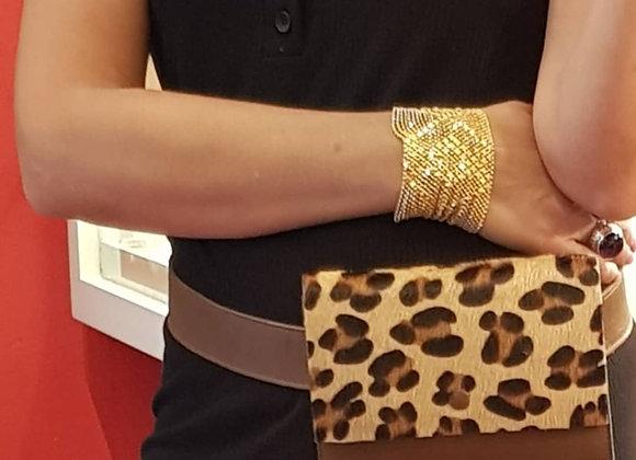 LEOPOLDINE  marron/léopard
