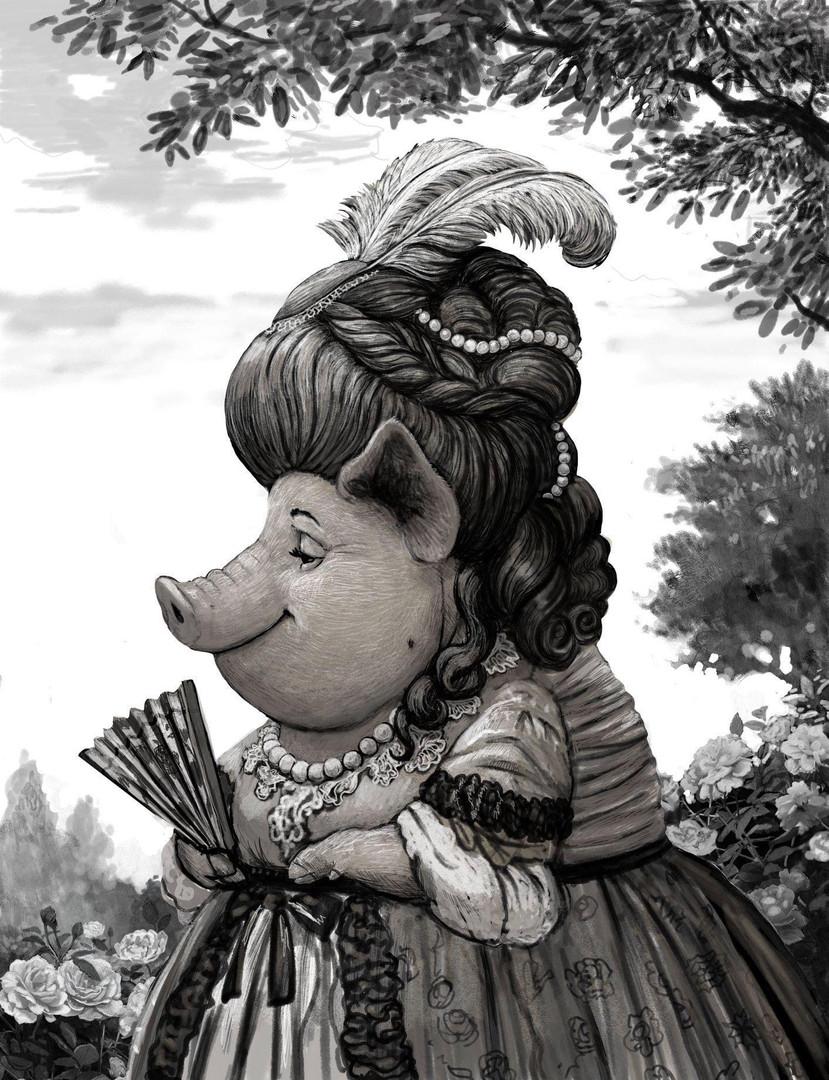 Comtesse Lilou le Cochon