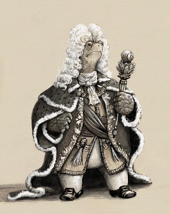 King Francis le Régulière (Francis the Steady)