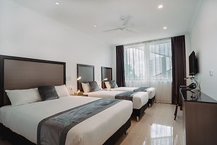 Darwin City Hotel Superior triple room.j