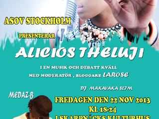 ASOV STOCKHOLM PRENSENTERAR: ALIOUS THELIJU