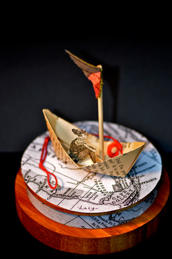 Little Lucy all at sea -detail