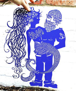 The Cpt & the Mermaid/ of you look close