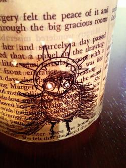 spirit owl twinkle light - detail