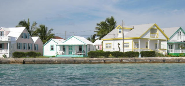 Spanish Wells Bahamas harbour cottages