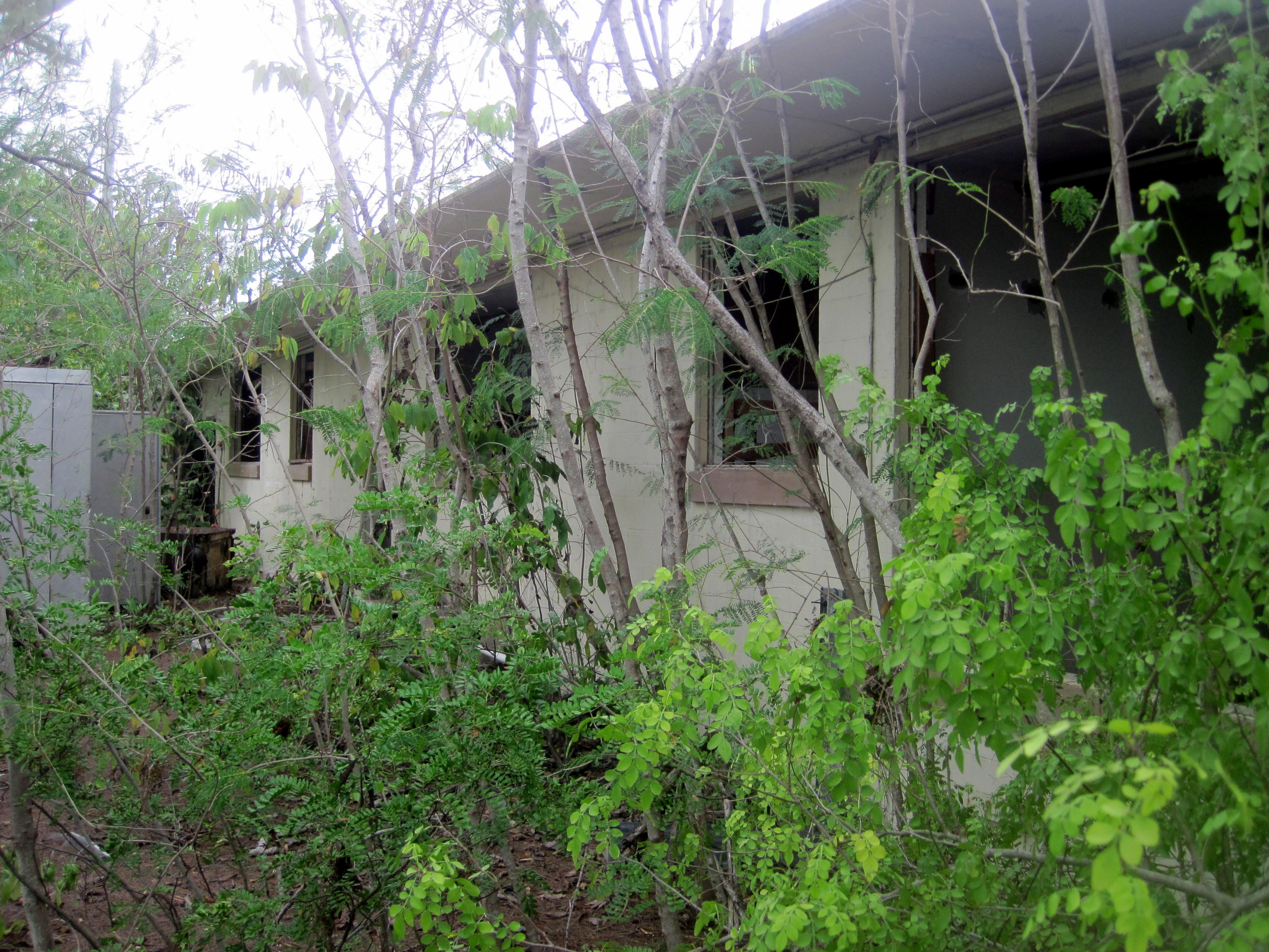 Deserted Military Base