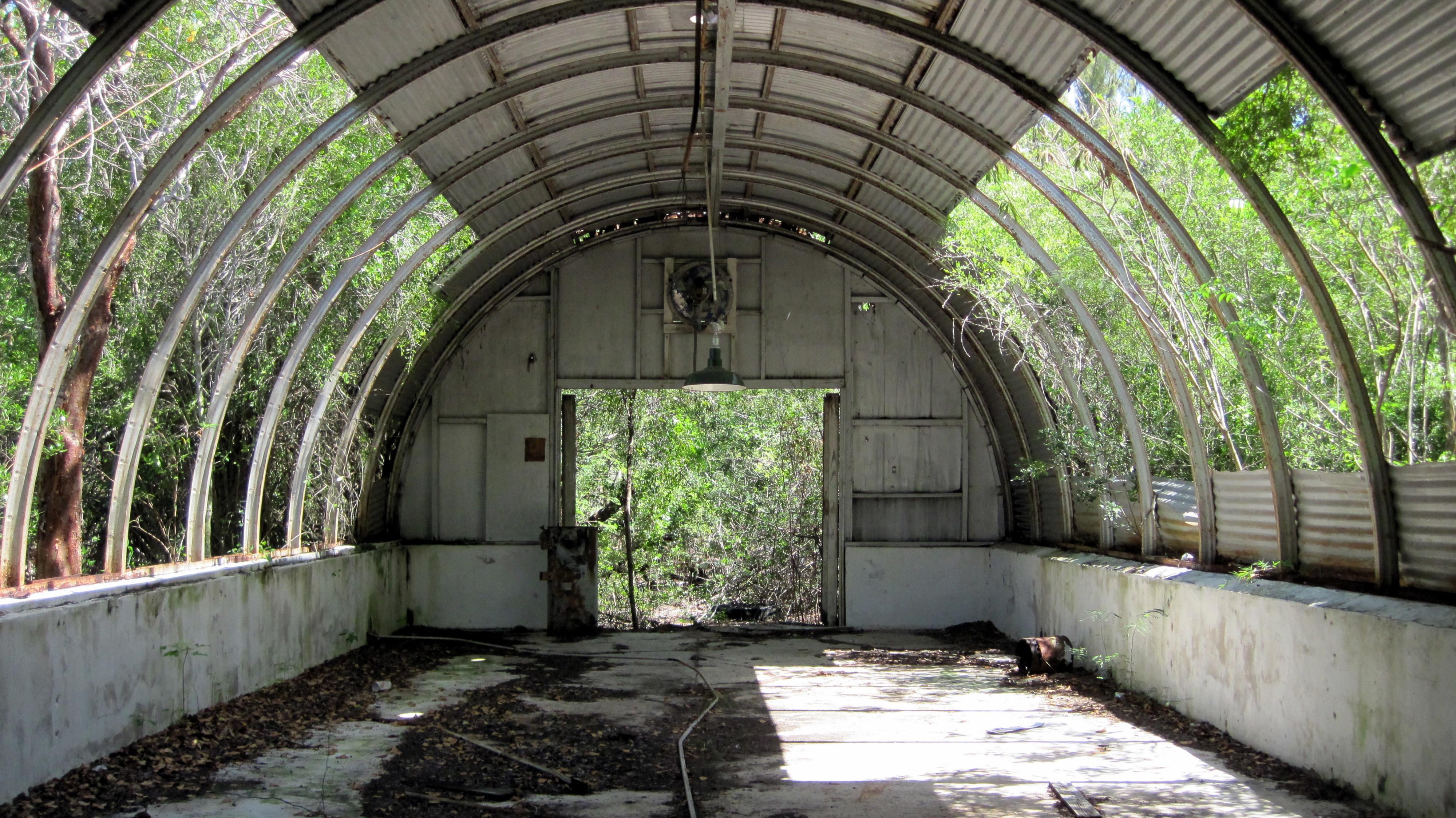 Deserted US Military Base