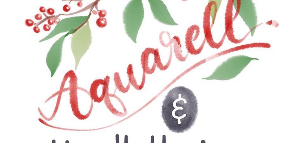 Aquarell & Handlettering