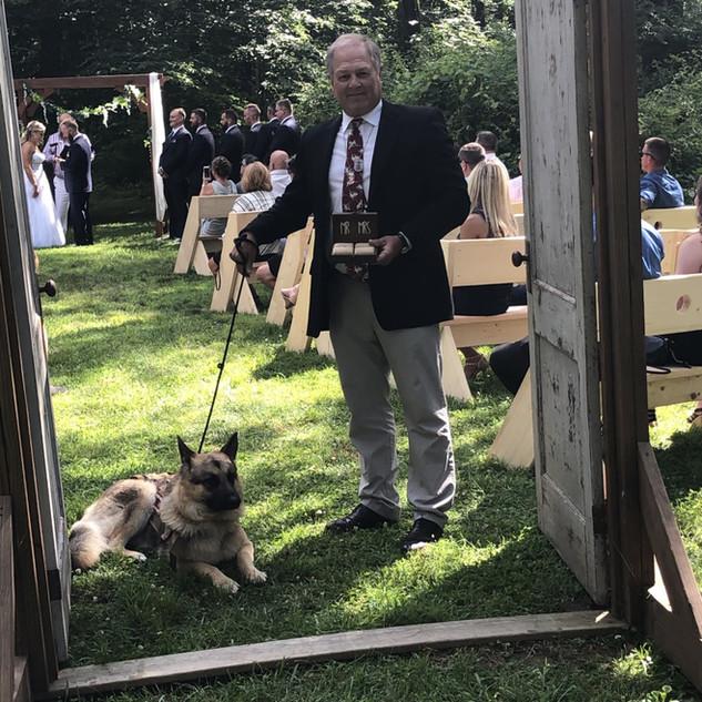 Coffey and Coffey wedding