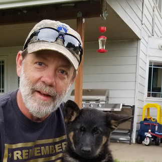 Jeff Keller is a USO Director at PDX and along with Gold Star Father Grant Coffey, handle our K9 program.