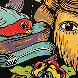 Граффити природы