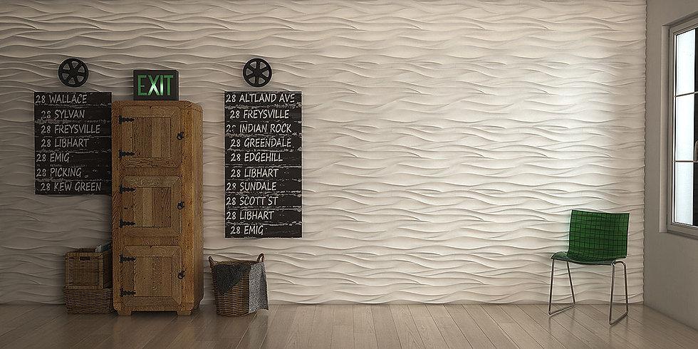 Гипсовые 3 д панели артпроект