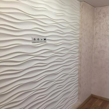 Гипсовая панель Атлантика 8м.кв