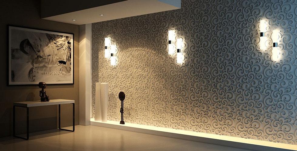 Гипсовые панели монтаж, дизайн, на стену